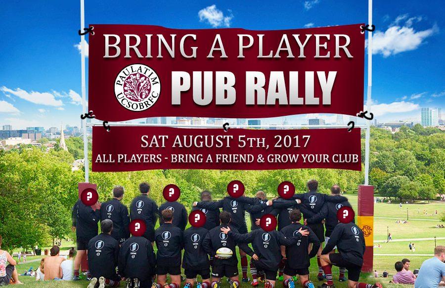 UCSOBRFC Pub Rally - Saturday, August 5th, 2017